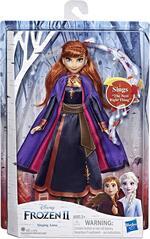 Frozen 2. Anna cantante (bambola elettronica con abito viola, ispirato al film Disney Frozen 2)