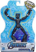 Avengers. Black Panther Bend and Flex (Action Figure Flessibile 15cm)
