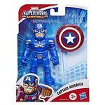 Super Hero Adventures  Mini Mighties 13 cm. Captain America