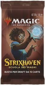 MTG. Strixhaven: School of Mages. Draft Booster. Bustina Singola. IT