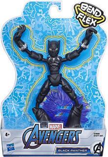 Avengers Bend and Flex. Personaggi Snodabili 15 cm. Black Panther