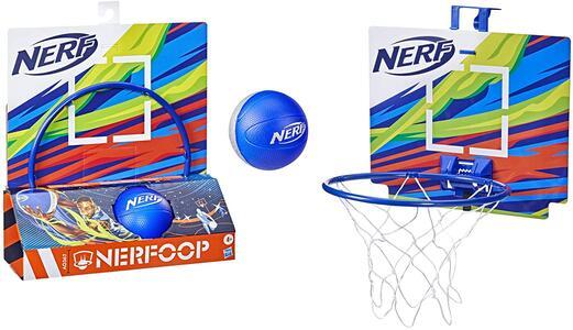 Giocattolo Nerf Sports Canestro con Palla Blu Hasbro