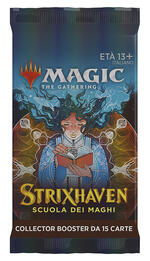 It Magic Strixhaven School Of Mages Collector Booster