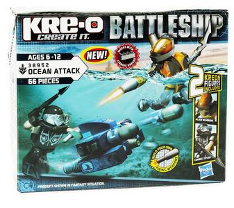 Giocattolo Battleship Scuba Sled Kre-o 0