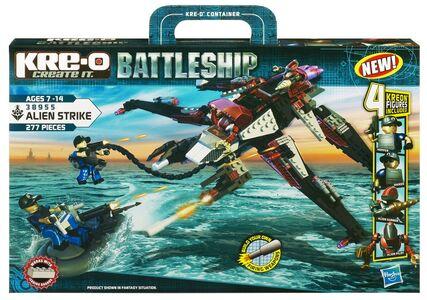 Giocattolo Battleship Zodiak vs Stinger Kre-o 0