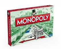 Giocattolo Monopoly rettangolare Hasbro