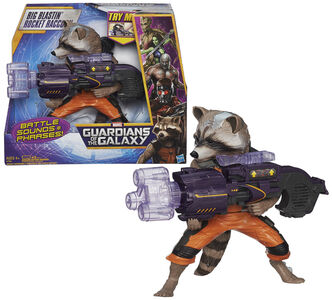 Giocattolo Guardians of the Galaxy. Rocket Raccoon Elettronico Hasbro