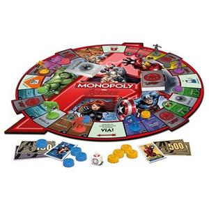 Giocattolo Monopoly. Avengers Hasbro 1