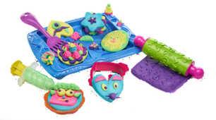Giocattolo Play-Doh. Cookies Set. 5 Vasetti + Accessori Hasbro