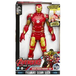 Action figure Avengers Iron Man Eletr. Solid - 2