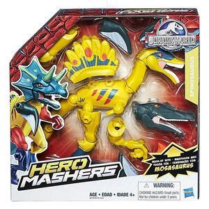 Jurassic World. World Hero Mash Dino con Accessori