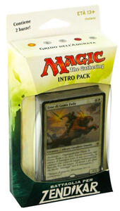 Magic Battaglia per Zendikar Intro Pack - 2