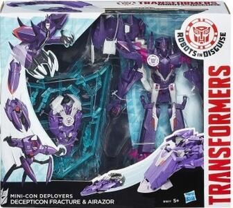 Transformers Minicons Deployers Decepticon Fracture and Airazor