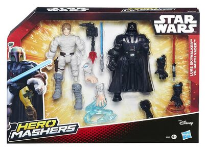 Giocattolo Figure Star Wars Hero Mashers Battle Pack Hasbro 0