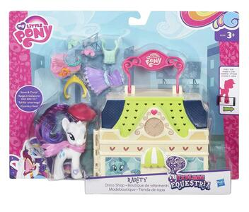 My Little Pony. Mini Playset Valigetta Rarity - 10