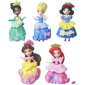 Small Doll Collection Principesse Disney. Cenerentola, Belle, Tiana, Ariel e Biancaneve - 6