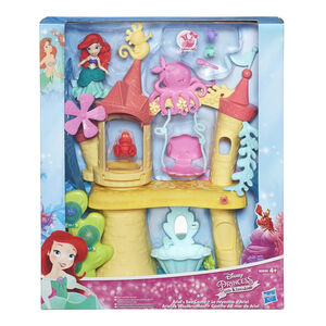 Giocattolo Principesse Disney. Small Doll. Playset Castello di Ariel Hasbro