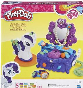 Play-Doh. My Little Pony. Rarity Style and Spin