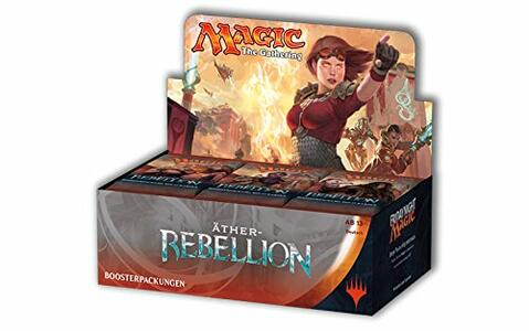 Magic the Gathering. Aether Revolt. Box 36 Buste. Ed. Tedesca - 2