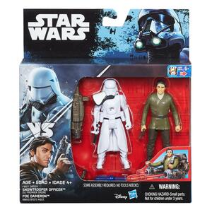 Star Wars Deluxe Pack. Poe Dameron & Snowtrooper Officer - 2