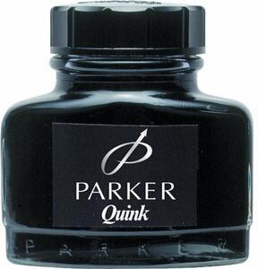 Flacone inchiostro Parker Pen Quink per stilografica nero 57 ml