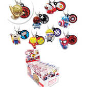 Idee regalo Marvel. Personaggio Portachiavi Party 2 Tomy
