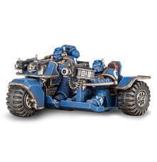 Games Workshop Moto D''''Assalto Degli Space Marine 48 20