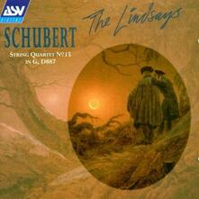 Quartetto per Archi n.15 D887 Op.161 - CD Audio di Franz Schubert