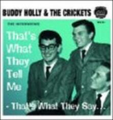 That's the Way They Tell - CD Audio di Buddy Holly