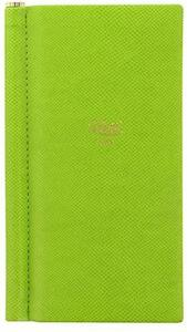 Cartoleria Taccuino Letts Note Origins, Slim Pocket, Verde, 224 Pagine a Righe Letts