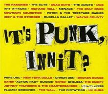 It's Punk, Innit? - CD Audio