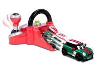 Go Mini Stunt Launcher Rosso (1 Veicolo Incluso) Go Mini