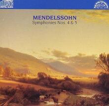 Sinfonia n.4 op.90 - CD Audio di Felix Mendelssohn-Bartholdy