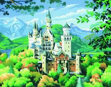 Painting By Numbers Senior, Neuschwanstein Castle. 0128