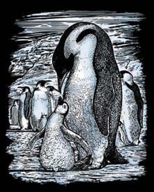 Artfoil Silver. Pinguini