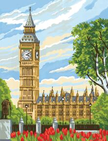 Painting By Numbers Junior, Big Ben. 1331