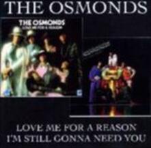Love Me for A - CD Audio di Osmonds