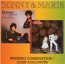 Winning Combination - Goin' Coconuts - CD Audio di Donny Osmond,Marie Osmond