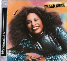 What Cha Gonna Do for me (+ Bonus Tracks) - CD Audio di Chaka Khan