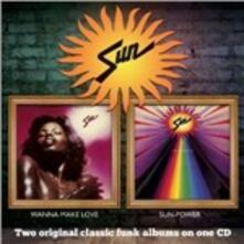 Wanna Make Love - Sun-Power - CD Audio di Sun