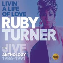 Livin a Life of Love. The Jive Antholog - CD Audio di Ruby Turner