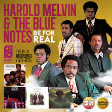 Be for Real. The PIR Recordings 1972-1975 - CD Audio di Harold Melvin,Blue Notes