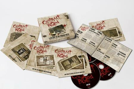 CD Contract in Blood. A History of UK Thrash Metal (Box Set)