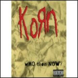 Korn. Who Then Now? - DVD