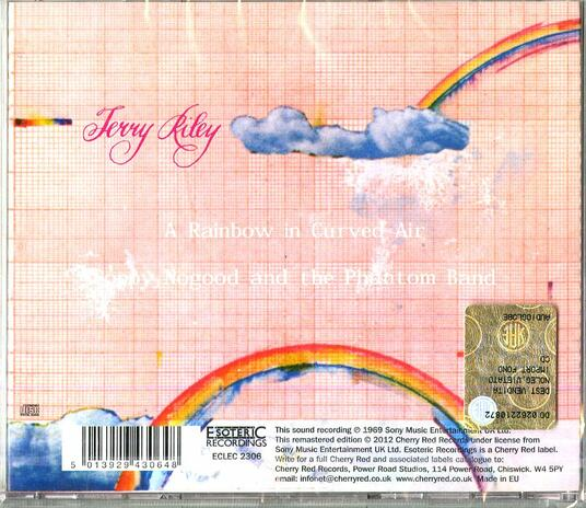 A Rainbow in a Curved Air (Remastered Edition) - CD Audio di Terry Riley - 2