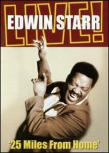 Edwin Starr. Live! 25 Miles From Home - DVD