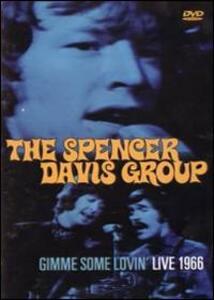 The Spencer Davis Group. Gimme Some Lovin'. Live 1966 - DVD