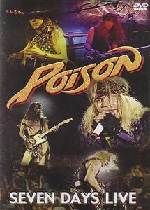 Poison. Seven Days Live - DVD