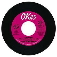 Poor Dog - Little Bit of Something - Vinile 7'' di Little Richard