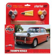 Airfix. A55201. Modellbausatz. Starter Set. Triumph Herald